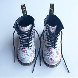 Dr. Martens Floral Boots Size 8